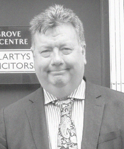Ian McLarty Solicitor And Senior Partner At McLartys Solicitors