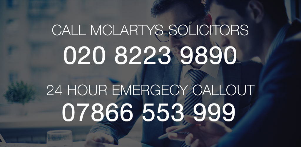 Criminal Defence Services at Mclartys Solicitors